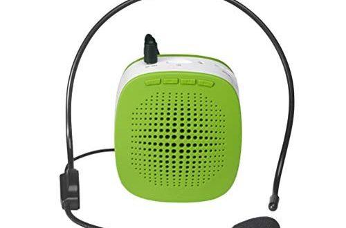 BESPORTBLE S1015 Tragbare Wireless Voice Amplifier 5 Watt Multifunktionale Sound Voice Lautsprecher mit TF Slot Mikrofon für Lehre Speeching Treffen (grün)
