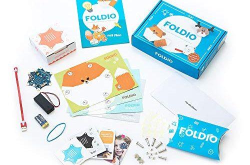 Foldio Starterset fuer Calliope Mini Spielend Programmieren Lernen 500x330 - Foldio Starterset für Calliope Mini | Spielend Programmieren Lernen | Für Kinder ab 7 Jahren (mit Calliope Mini)